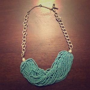 Kenneth Cole Turquoise Beaded Necklace